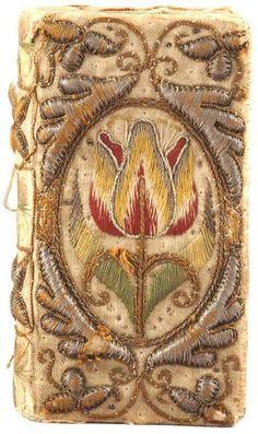 embroidered book cover  source:libweb5.princeton.ed