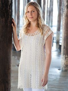 West Shore Tunic Crochet Pattern from Annie's Summer Love Collection. Follow Instagram.com/anniessignaturedesigns to stay up to date on the ‪#‎AnniesSummerLoveCollection‬. Shop the designs now: https://www.anniescatalog.com/list.html?q=summerlove.