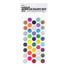 Complete simple craft projects with this acrylic paint pot set. The assorted colors give you a veritable rainbow of 1 wide by 1 high pots to work with, ensuring creative flexibility. Perfect for at home activities, crafting, and paint projects Ice Cream Decorations, Tropical Party Decorations, Paper Tea Cups, Sprinkle Party, Acrylic Paint Set, Rainbow Sprinkles, Pot Sets, Party Cups, Party Favor Bags