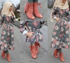 Shoes / Schuhe / Ayakkabilar - Justfab  Jacket / Jacke / Ceket - New o Adam (Istanbul/Fatih)  Hijab / Kopftuch / Basörtü - misselegance.de (Hijab 213)