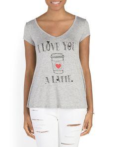 Juniors+I+Love+You+A+Latte+Top