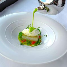 Pea Soup and smoked haddock - The ChefsTalk Project
