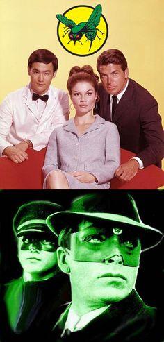 The Green Hornet (1966-67, ABC) — starring Van Williams as The Green Hornet/Britt Reid, Bruce Lee as Kato & Wende Wagner as Casey Case (Reid's secretary).