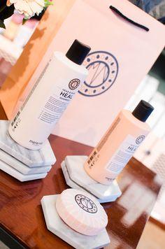 Vass PR ♥ Maria Nila Head & Hair Heal http://beautyboulevard.se/maria-nila-lansering/ Hair Care Schampoo Conditioner Mask Maria Nila Palett