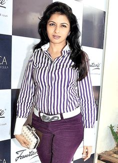 Bhagyashree at a food event. #Bollywood #Fashion #Style #Beauty #Page3