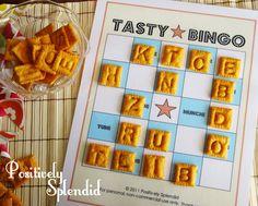 Tasty Bingo Game {free printable}