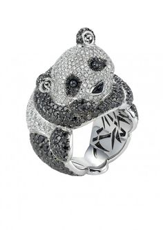 Panda Ring by Chopard