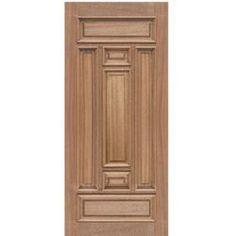 Our tradtional wooden doors provide an affordable and attractive alternative to choosing an exterior door for your home. Pooja Door Design, House Main Door Design, Single Door Design, Wooden Front Door Design, Double Door Design, Door Design Interior, Wood Entry Doors, Wood Exterior Door, Wooden Doors