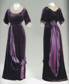Evening Dress By Mme. Jeanne Paquin, House Of Paquin - French