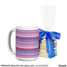 TEMPLATE Blank DIY edit replace add TEXT PHOTO Classic White Coffee Mug