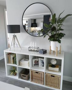22 smart first apartment decorating ideas on a budget 00004 - Modern Living Room Designs, Living Room Decor, Paint Colors For Living Room, Mirrors For Living Room, Living Room Storage Furniture, Living Room Entrance Ideas, Living Room Interior, Storage Ideas Living Room, Dinning Room Ideas