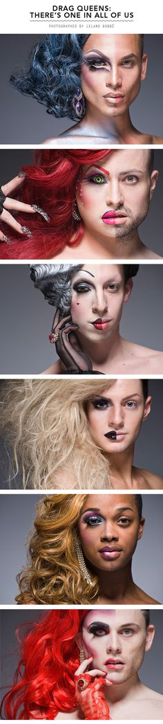 MKT- Drag queens; transformation through the use of make up