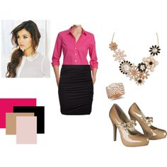 """""""Work outfit."""" by tennisgirl625 on Polyvore"""