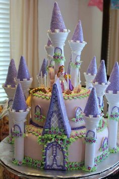 Rapunzel cake from The Brulee Catering. Contact us at www.thebruleecatering.com