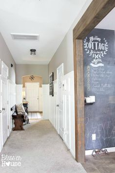 Diy Board And Batten For Under  Blesser House I Love The