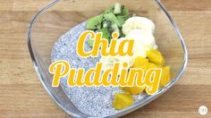 Simple Chia Seed Pudding - Healthy Recipe