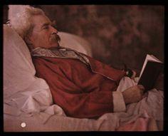 Mark Twain, 1908 by Etheldreda Laing
