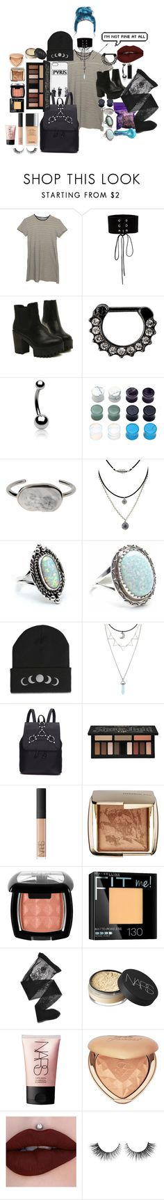 """Stop there and let me correct it,i want to live a life from new perspective"" by headbangingunicorn ❤ liked on Polyvore featuring Manokhi, Bling Jewelry, Balenciaga, Hot Topic, Kat Von D, NARS Cosmetics, Hourglass Cosmetics, Maybelline, Emporio Armani and Too Faced Cosmetics"