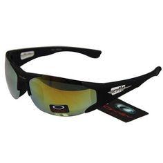 7a3bb95ad2 Oakley Men S Sunglasses Yellow-Blue Iridium Black