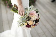 Photography : Raquel Reis | Florist : Pola Rebisz | Wedding Gown : Birnbaum & Bullock NYC Read More on SMP: http://www.stylemepretty.com/new-york-weddings/hudson-valley/2014/07/25/romantic-hudson-valley-wedding/