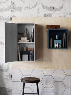 VALJE wandkast | Deze pin repinnen wij om jullie te inspireren! #IKEArepint #IKEA #nieuw #kast