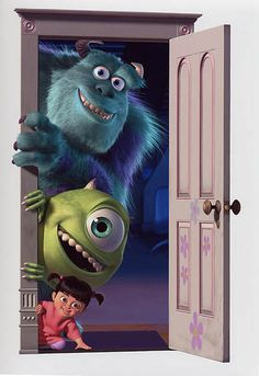 The famous portal from Monsters Inc. <3