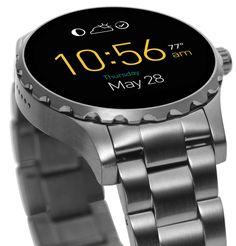 FOSSIL Q Q Marshal Smartwatch Herrenuhr FTW2108 Grau