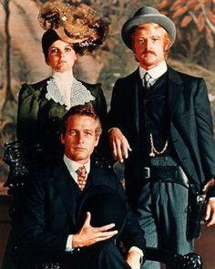 'Butch Cassidy and Sundance Kid' Directed by George Roy Hill. With Paul Newman, Robert Redford, Katharine Ross 1969 Movie, Movie Stars, Movie Tv, Sundance Kid, Caricatures, Paul Newman Robert Redford, George Roy Hill, Katherine Ross, Westerns