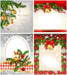 christmas card templates | 2012 Christmas card templates vector