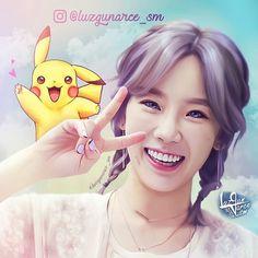 Happy - Taeyeon feat. Pikachu ✌ #Taeyeon #pikachu #pokemon #taeyeon_ss #태연 #ty #alwaystyfan #tysone #samdasoo #realism #snsd #kpopfanart #snsdfanart #fanart #snsdtaeyeon #girlsgeneration #소녀시대 #少女時代 #kpop #taeny #composition #cute #illustration #drawing #digitalart #digital #catchGG #bouchac / #luzgunarce_sm