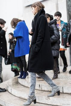 black and grey   A Love is Blind - Paris Fashionweek day 6