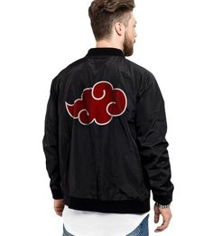Are you a fan of Naruto and is the Akatsuki your favorite clan? Show your true colors and grab your very own, limited edition Akatsuki bomber jacket. Akatsuki Cosplay, Naruto Cosplay, Cowboy Bebop, Blue Exorcist, Moda Geek, Naruto Clothing, Inu Yasha, Mens Sweatshirts, Hoodies
