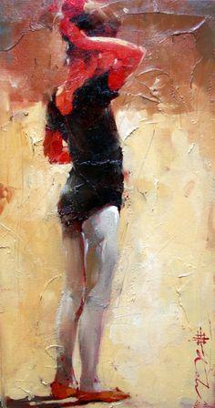 No Ensaio - Andre Kohn e suas pinturas - Impressionismo Figurativo
