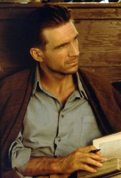 Ralph Fiennes as Count Laszlo de Almásy, The English Patient (1996) dir: Anthony Minghella