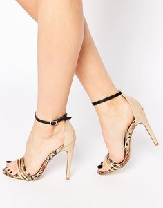 Truffle Collection Helen Barely There Heeled Sandals