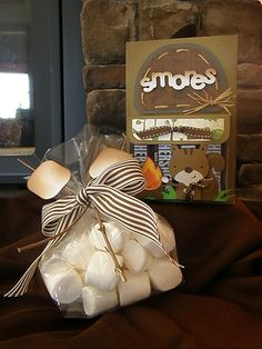 s'mores card and bag on the cricut fanactic blog