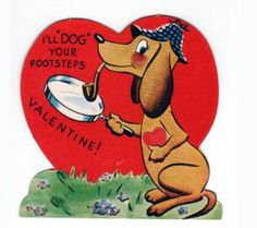 funny vintage valentine's day cards