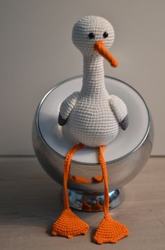 Patron cigogne by LespatronsdePM on Etsy, €3.50
