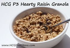 Granola for phase 3 of the HCG diet... remember this HCG P3 recipe is ONLY for the 2nd 3 weeks of HCG maintenance!