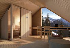 Le case in legno di Peter Zumthor nel Canton Grigioni, Svizzera - Elle Decor Italia