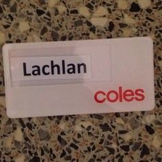 And then people stare at your name tag for minutes at a time trying to figure out what it says. | 21 Awkward Moments That Only People With Unique Names Will Understand