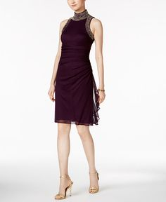 693484c0cd6 B A by Betsy and Adam Embellished Sheath Dress   Reviews - Dresses - Women  - Macy s