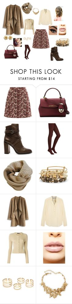 """""""Senza titolo #438"""" by lilly901 ❤ liked on Polyvore featuring MICHAEL Michael Kors, Vince Camuto, Merinos, Humble Chic, Alex and Ani, Chicwish, STELLA McCARTNEY, Dolce&Gabbana, LASplash and Oscar de la Renta"""
