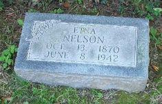 Western Kentucky Genealogy Blog: Tombstone Tuesday - Etna Nelson #genealogy