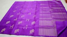Kanchi soft silk 100% pure handloom light weight party wear @Rs.8500 Mysore Silk Saree, Silk Sarees, 100 Pure, Party Wear, Pure Products, How To Wear, Party Clothes, Party Outfits, Party Dress