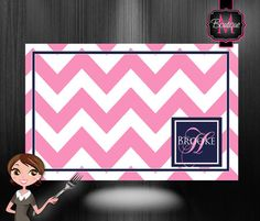 50 Personalized Paper Placemats, Custom Monogrammed, Choose Your Colors. on Etsy, $35.99