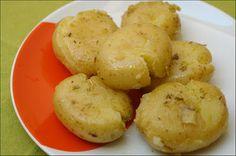 Hoje para jantar ...: Batatas a Murro com Alho e Orégãos