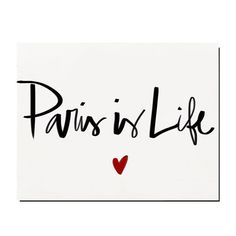 Paris is life # Inspiration Franck Provost Franck Provost, Springtime In Paris, I Love Paris, France, Parisian Style, Sweet Life, Typography, Messages, Thoughts