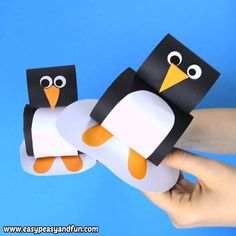 You just have to add this paper penguin craft for kids to your arctic animals cr. - You just have to add this paper penguin craft for kids to your arctic animals cr. Winter Crafts For Kids, Paper Crafts For Kids, Christmas Crafts For Kids, Preschool Crafts, Diy For Kids, Easy Crafts, Arts And Crafts, Craft Kids, Decor Crafts