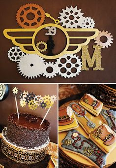 Stopping Time, Forever Thirty Nine Steampunk Birthday Party - can work with 29 too :)